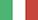 Drapeau langue italienne