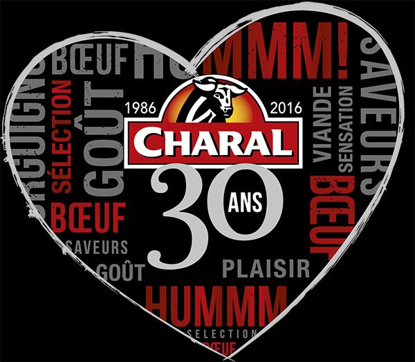 logo charal 30ans