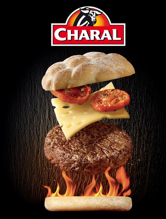 Burger éclaté.