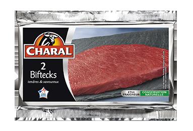 Bifteck - Nos pièces du boucher - Classique - charal.fr