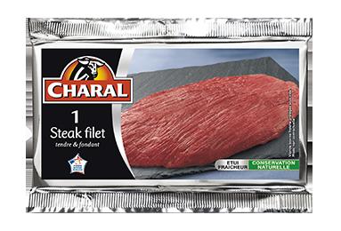 Steak Filet - Nos pièces du boucher - Classique - charal.fr