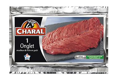 Onglet - Nos pièces du boucher - Classique - charal.fr