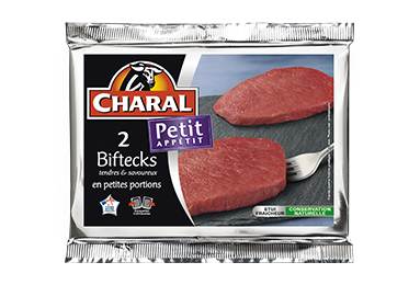 Bifteck Petit Appétit - Nos pièces du boucher - Petit Appétit - charal.fr