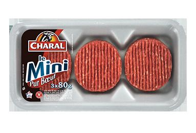Steak Haché Mini Pur Bœuf - Nos hachés à griller - charal.fr