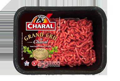 Viande Hachée Grand Cru Pur Bœuf - Nos hachés à cuisiner - charal.fr