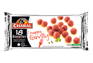 Boulettes Happy Family - Nos boulettes - Happy Family - charal.fr