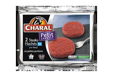Steak Haché Petit Appétit Pur Bœuf - Nos hachés à griller - Petit Appétit - charal.fr