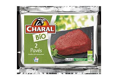 Pavés De Bœuf Bio - Nos bios - charal.fr
