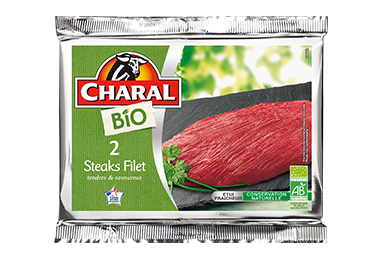 Steak Filet Bio - Nos bios - charal.fr