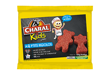P'tits Rigolos Charal Pur Bœuf - Nos kids - charal.fr