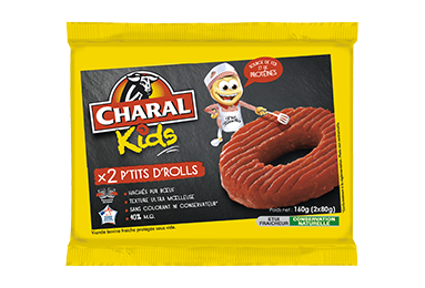 P'tits D'rolls Pur Bœuf - Nos kids - charal.fr