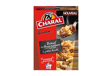 Bœuf Façon Bourguignon Et Pâtes Fusilli - Nos box - charal.fr