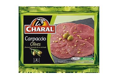 Carpaccio Olives - Nos carpaccios - charal.fr