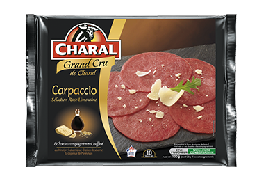 Carpaccio Grand Cru - Nos carpaccios - Grand Cru - charal.fr