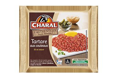 Tartare Aux Couteaux - Nos tartares - Authentique - charal.fr
