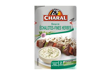 Sauce Échalotes-fines Herbes - Nos sauces et marinades - Classique - charal.fr