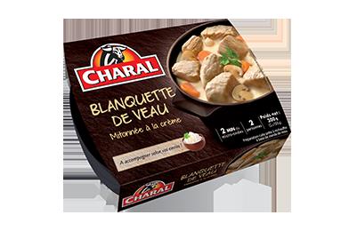 Blanquette De Veau Mitonnée à La Crème - Nos viandes cuisinées - Traditionnelle - charal.fr