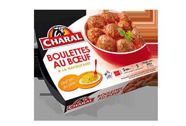 Boulettes Au Bœuf à La Napolitaine - Nos viandes cuisinées - Quotidienne - charal.fr