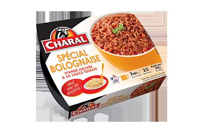 Spécial Bolognaise - Nos viandes cuisinées - Quotidienne - charal.fr