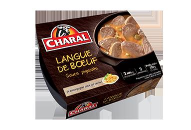 Langue De Bœuf Sauce Piquante - Nos viandes cuisinées - Traditionnelle - charal.fr