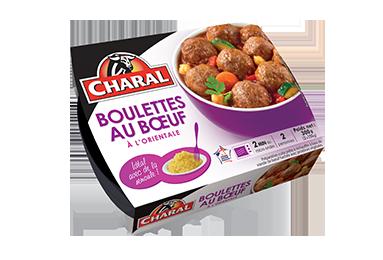 Boulettes Au Bœuf à L'orientale - Nos viandes cuisinées - Quotidienne - charal.fr