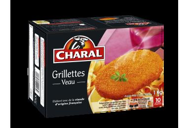 Grillettes Au Veau Surgelées - Nos panés - charal.fr