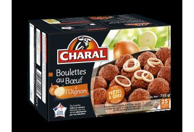 Boulettes Au Bœuf à L'oignon Surgelées - Nos boulettes - charal.fr