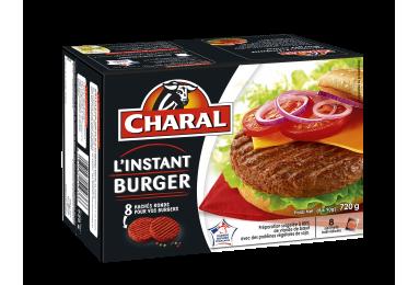 L'instant Burger Surgelé - Nos hachés à griller - Spécial Burger - charal.fr
