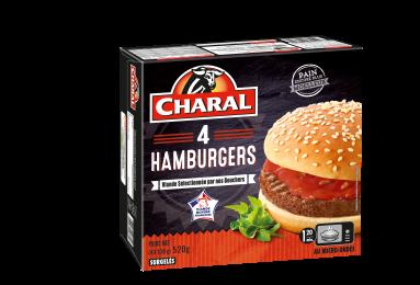 Hamburger Surgelé - Nos burgers - charal.fr