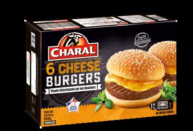 Cheeseburger Surgelé - Nos burgers - charal.fr