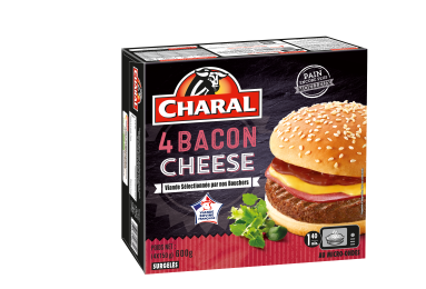 Baconcheese Surgelé - Nos burgers - charal.fr