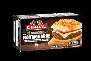 Burger à La Montagnarde Surgelé - Nos burgers - charal.fr