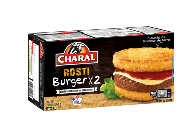 Rosti Burger Surgelé - Nos burgers - charal.fr