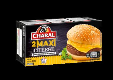 Maxi Cheese Surgelé - Nos burgers - charal.fr