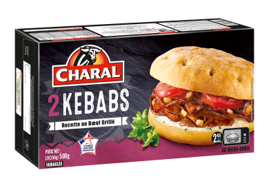Kebab Surgelé - Nos kebabs - charal.fr
