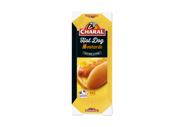 Hot Dog Moutarde - Nos hot dogs - charal.fr
