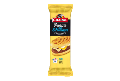 Panini Bœuf Saveur 3 Fromages - Nos toastés - charal.fr