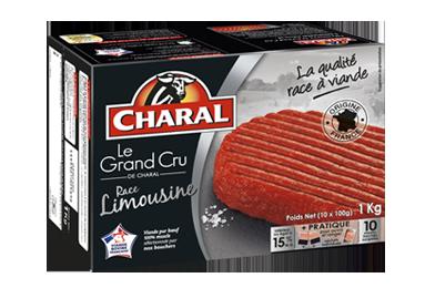 Le Steak Haché Grand Cru Limousin Pur Bœuf Surgelé - Nos hachés à griller - Grand Cru - charal.fr