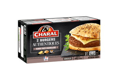 Burger Authentique - Nos burgers - charal.fr