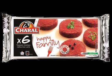 Hachés Au Bœuf Happy Family - Nos hachés à griller - Happy Family - charal.fr