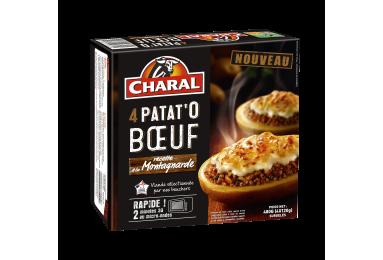 Patat'o Bœuf Recette à La Montagnarde - Nos plats cuisinés - charal.fr