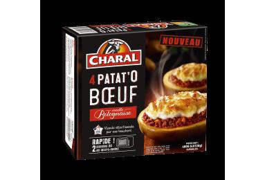 Patat'o Bœuf Recette Bolognaise - Nos plats cuisinés - charal.fr