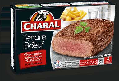 Tendre De Bœuf Surgelé - Le tendre de boeuf - charal.fr