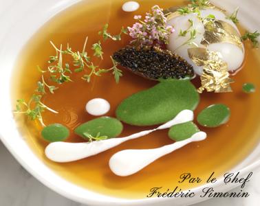 Interprétation-de-loeuf-en-gélée-cuit-et-pointe-de-caviar-min