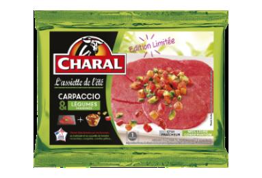 Carpaccio Et Légumes Marinés - Nos carpaccios - L'Assiette de l'été - charal.fr