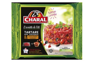 Tartare Aux Couteaux Et Légumes Marinés - Nos tartares - L'Assiette de l'été - charal.fr