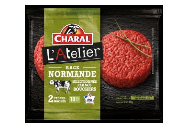 Steak Haché Race Normande Pur Bœuf - Nos hachés à griller - L'Atelier - charal.fr
