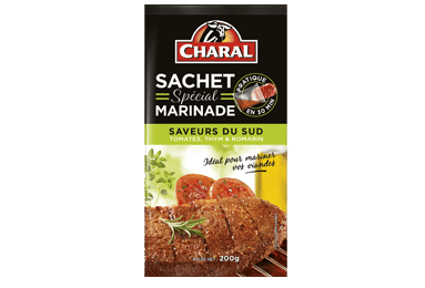 Sachet Spécial Marinade Saveurs Du Sud - Nos sauces et marinades - charal.fr