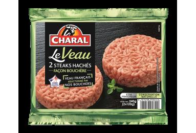 Steak Haché De Veau Façon Bouchère - Nos hachés à griller - Le Veau - charal.fr