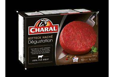 Bifteck Haché Dégustation Pur Bœuf Surgelé - Nos hachés à griller - charal.fr
